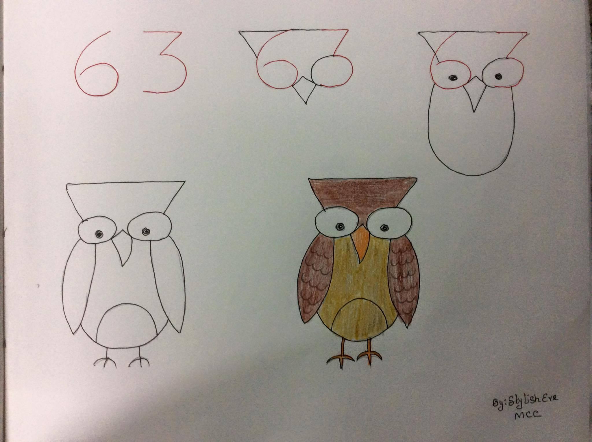 Un Simpatico Modo Per Insegnare Ai Tuoi Figli A Disegnare Con L