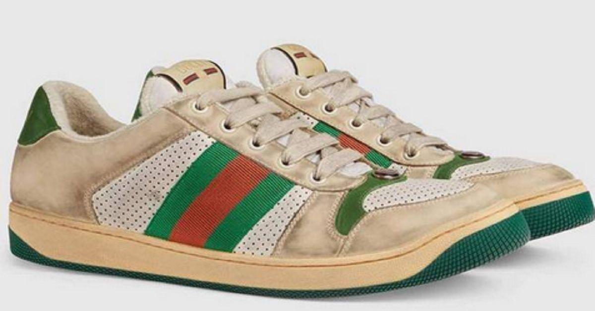 Scarpe logore e sporche, l'ultima novità fashion di Gucci ad un prezzo davvero folle – Le compreresti?