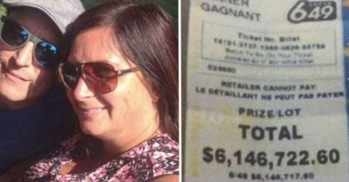 Vince più di 6 milioni alla lotteria, ma scappa per non dividerli con la sua fidanzata. Lei si vendica subito.