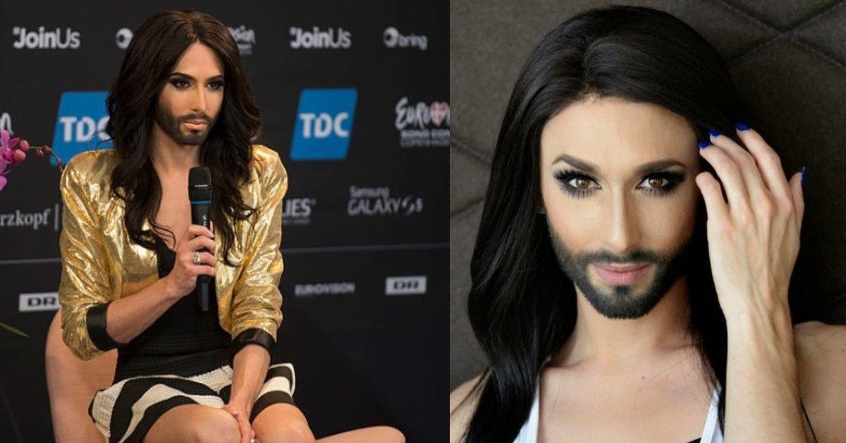 Ricordate Conchita Wurst? Adesso è irriconoscibile capelli corti biondo platino e look maschile.