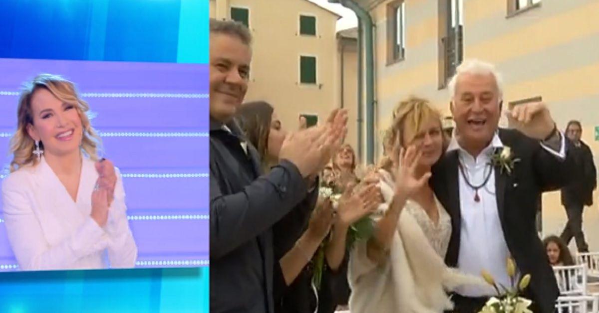 Marco Predolin si è sposato, l'esclusiva diretta delle nozze a Domenica Live