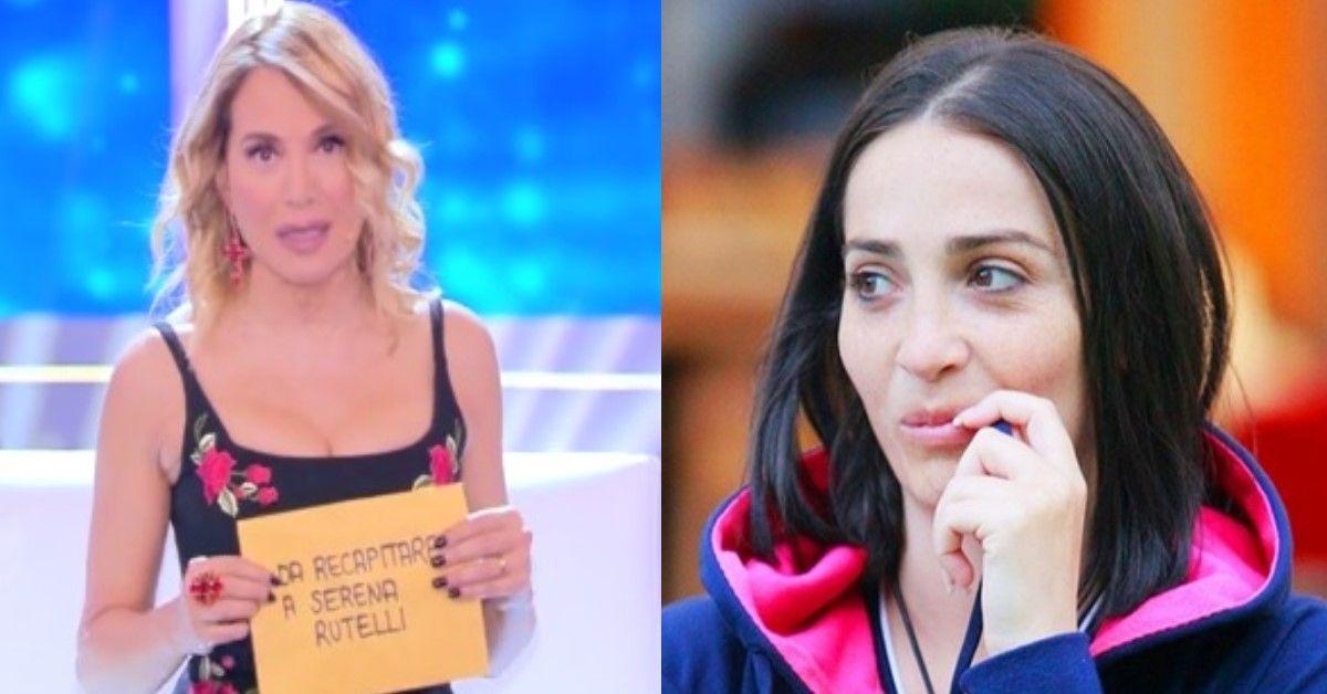 Barbara D'Urso leggerà a Serena la lettera del fratello biologico. La reazione della Palombelli.
