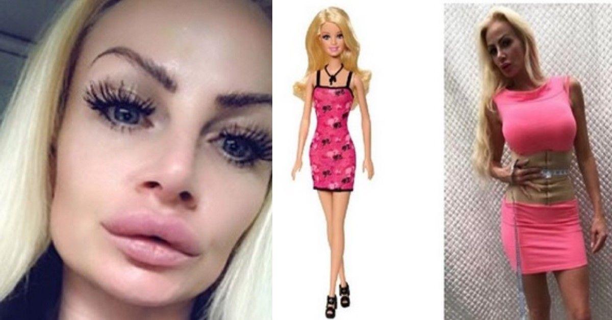 Una madre spende 300 mila euro per assomigliare a Barbie. Ma i suoi piani stanno per cambiare dopo il responso del medico.