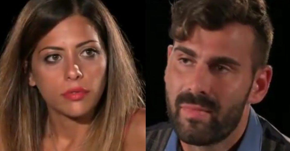 Temptation Island: Scoppia la coppia, le scene salienti di Nunzia e Arcangelo  durante il falò