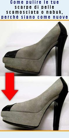 outlet store 96604 a97e1 Come pulire le scarpe in pelle scamosciata o nabuk, in modo ...