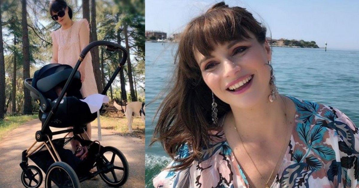 Lorena Bianchetti, mamma a 45 anni, mostra le foto della figlia su Instagram. Ecco la piccola Estelle.