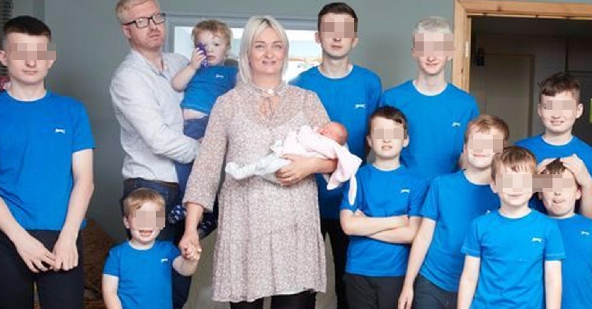 Questa mamma ha dato alla luce ben 11 figli, ma la particolarità sta nell'ultimo arrivato. Ecco il motivo.