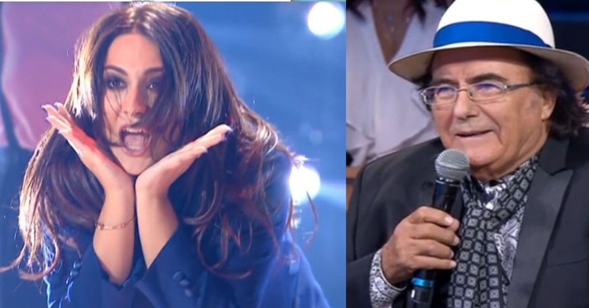 """Amici Celebrities: Al Bano   a Francesca """"Bravissima… quei 15 grammi in più che hai"""". La risposta di lei è da applausi."""