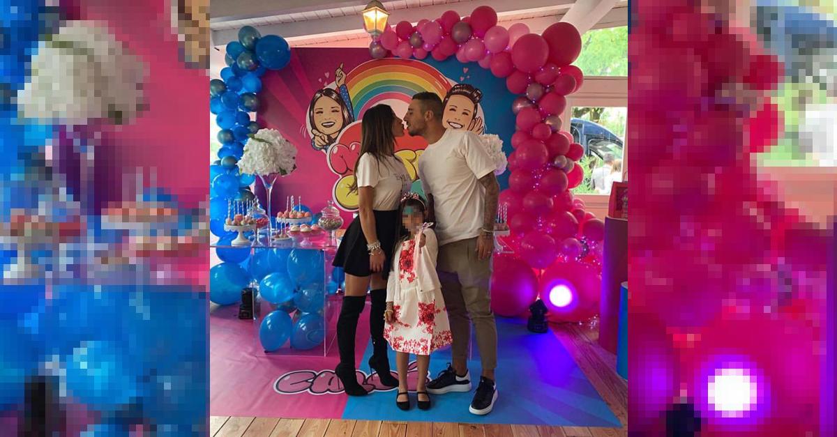 Guendalina Tavassi del Grande Fratello festeggia il compleanno della figlia Chloe a tema Pamela Prati. Ecco le Foto