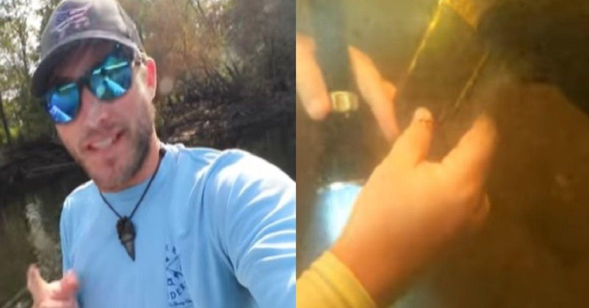 Si immerge e trova sul fondo del fiume un cellulare ancora funzionante perso 15 mesi prima e lo riconsegna al proprietario incredulo.