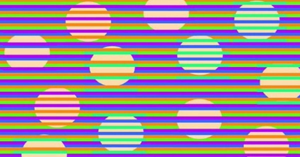 Riesci a decifrare di che colore sono i cerchi? L'illusione ottica che ha confuso tutti