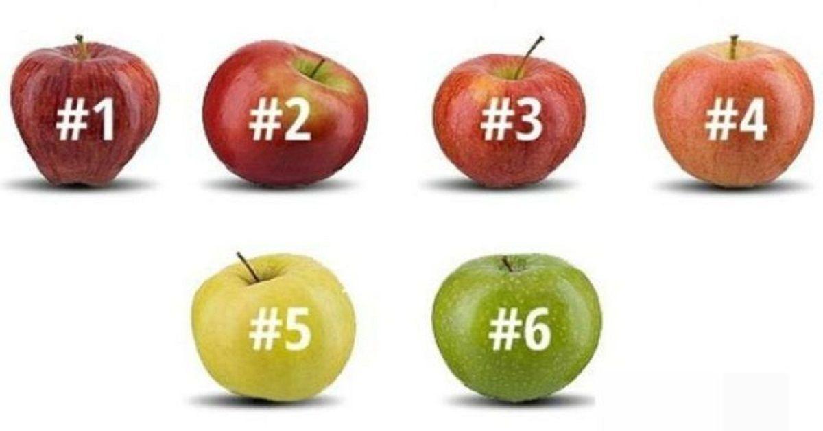 Prima scegli una mela, poi scopri il segreto che rivela la tua personalità