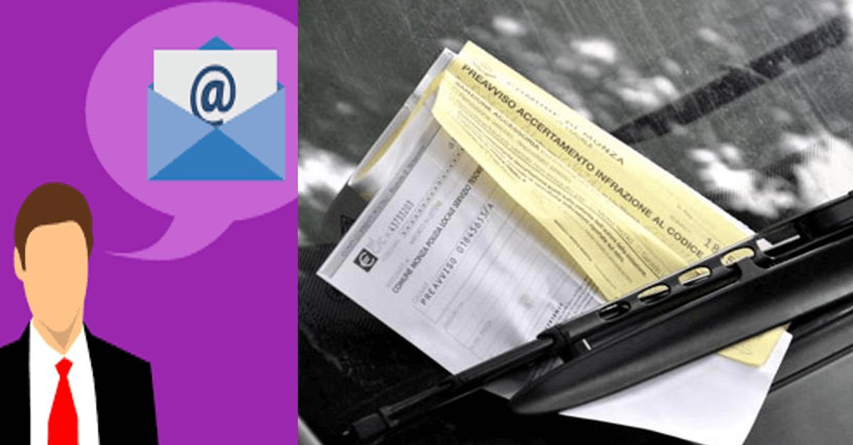 Multe via mail? Ecco cosa dice la nuova manovra