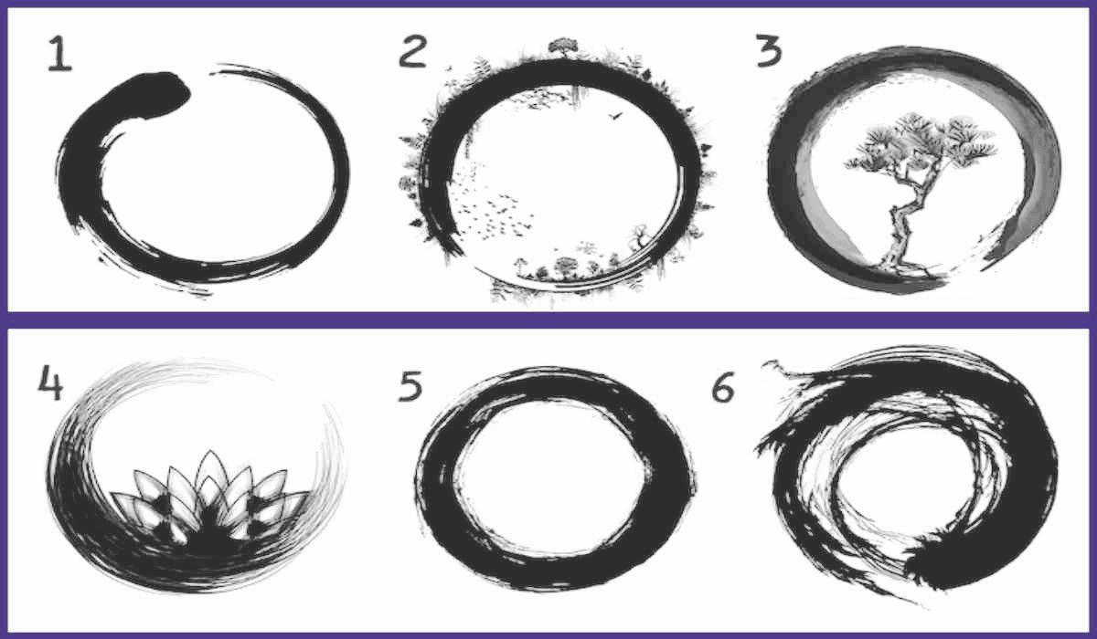 Test: Il cerchio su cui ti soffermi potrebbe dirti come appari agli occhi delle altre persone
