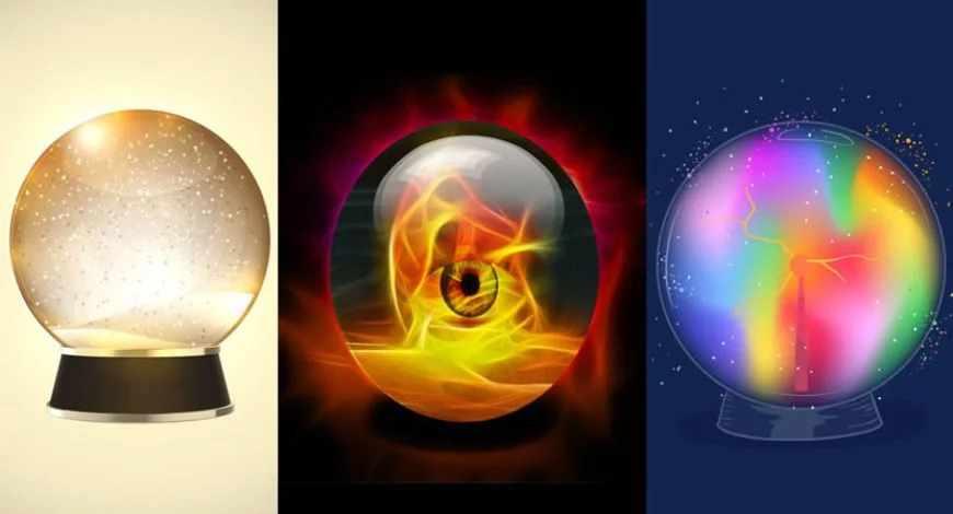 Scegli una sfera di cristallo e scopri cosa ti aspetta nei prossimi giorni