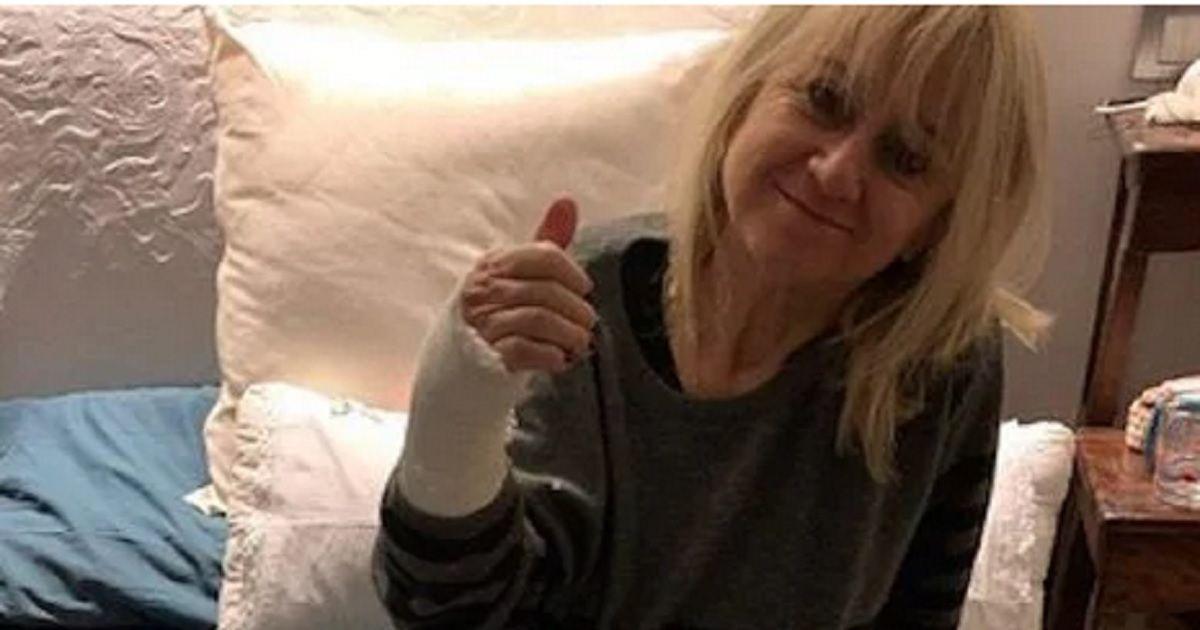 Luciana Littizzetto posta la foto su Instagram dopo l'incindente e preoccupa i suoi fan. Ecco cosa le è accaduto.