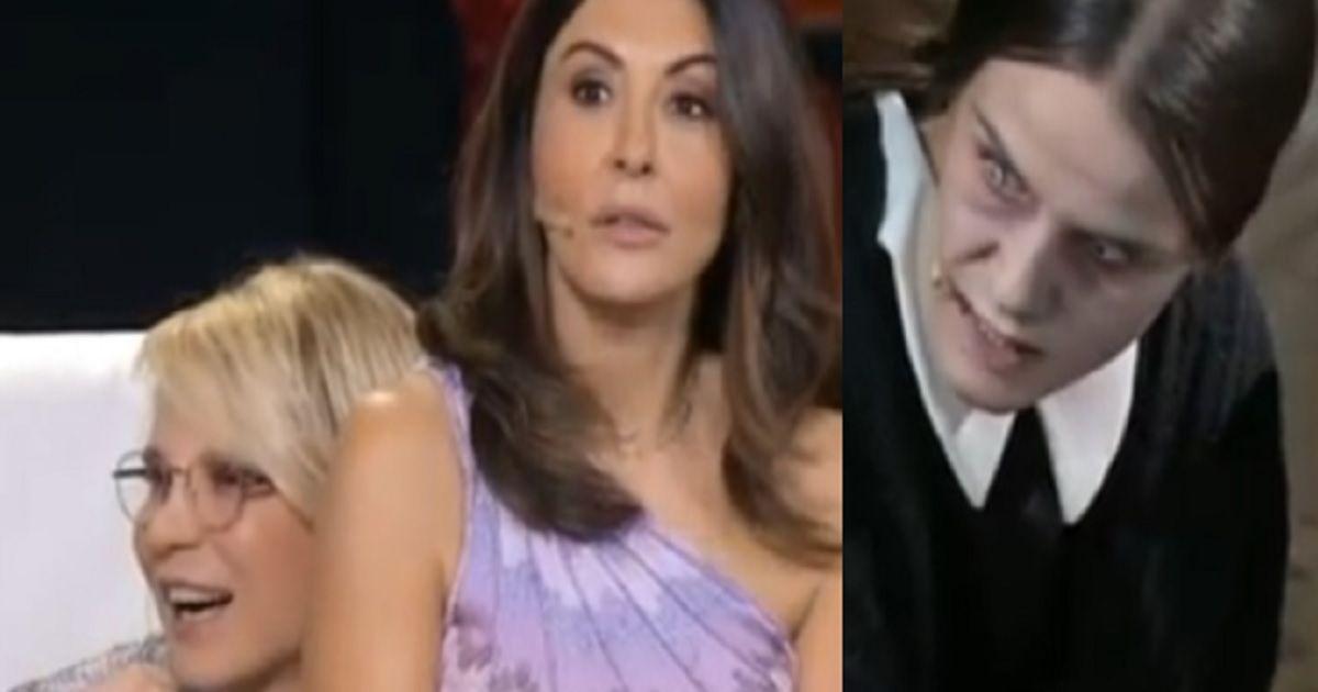 Sabrina Ferilli scopre chi si nasconde dietro la bambina dell'orrore che l'ha terrorizzata a Tu si que vales. Ecco come reagisce.