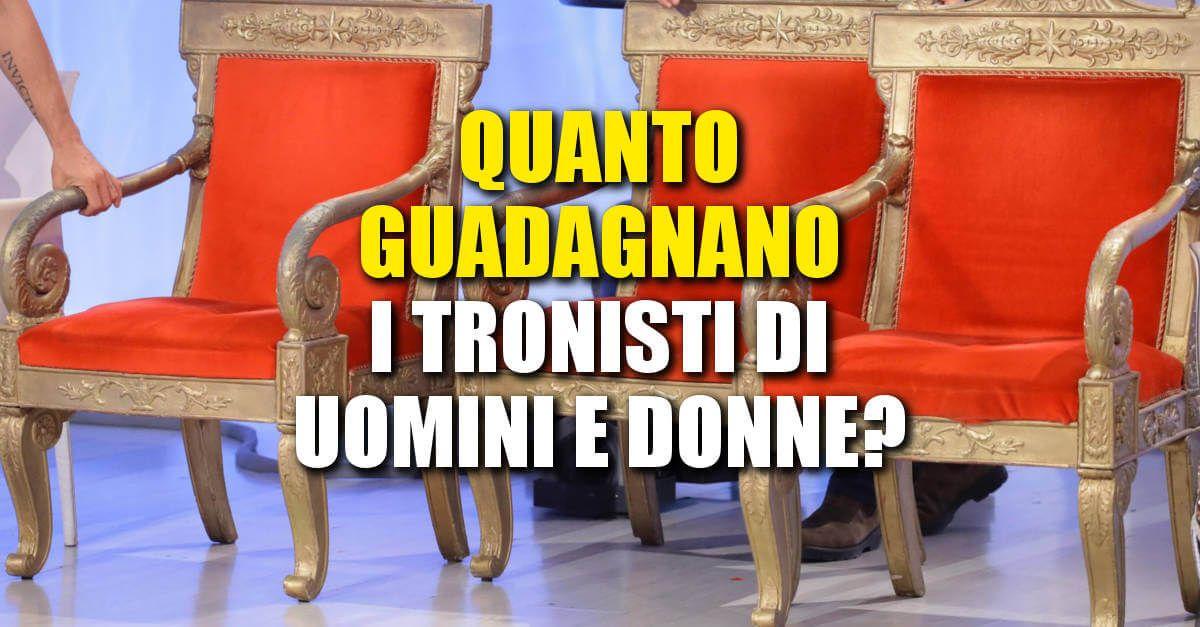 Uomini e Donne, quanto guadagnano i tronisti che partecipano al programma di Maria De Filippi?