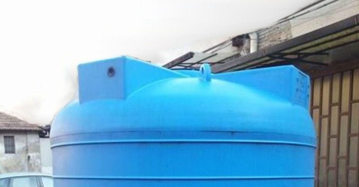 Come pulire cisterne d'acqua e cosa succede se non lo fai?
