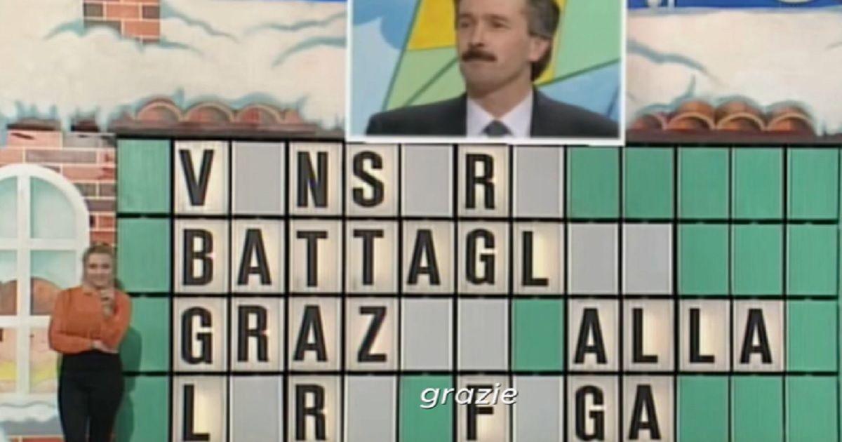 Ricordate il Signor Giancarlo della Ruota della fortuna? La sua risposta dopo 25 anni fa ancora discutere. Ecco cosa fa oggi e com'è