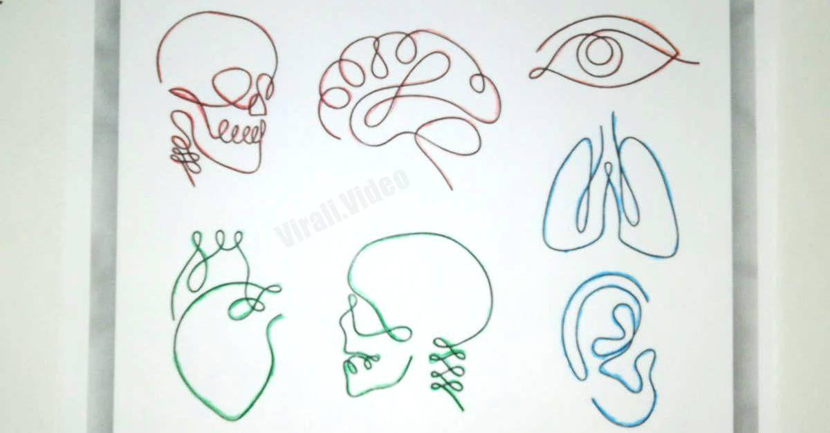 Scegli uno di questi disegni per scoprire qual è il tuo vero potere interiore