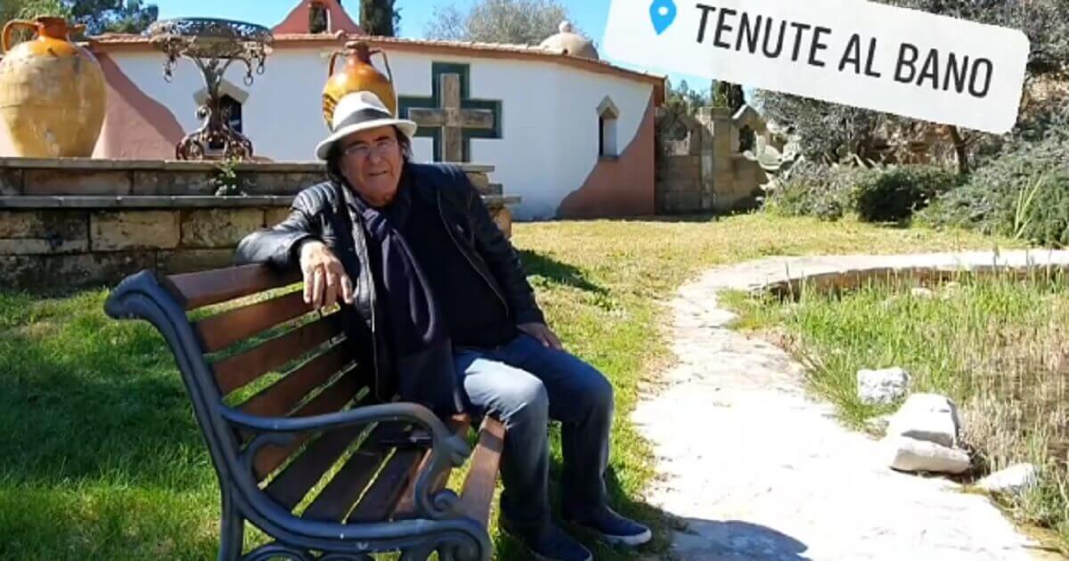 Al Bano passa la sua quarantena nella sua Tenuta di Cellino ed è lì che sta preparando una grande festa.