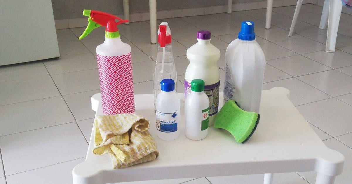 Come fare in casa prodotti igienizzanti e disinfettanti con alcool e candeggina. Consigli utilissimi!