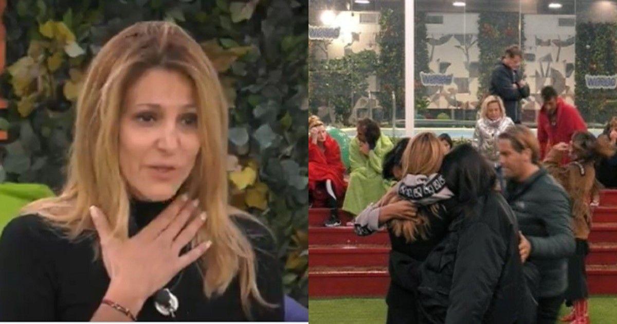 Adriana Volpe lascia la casa del Grande Fratello per motivi personali. Lacrime e sgomento tra i concorrenti