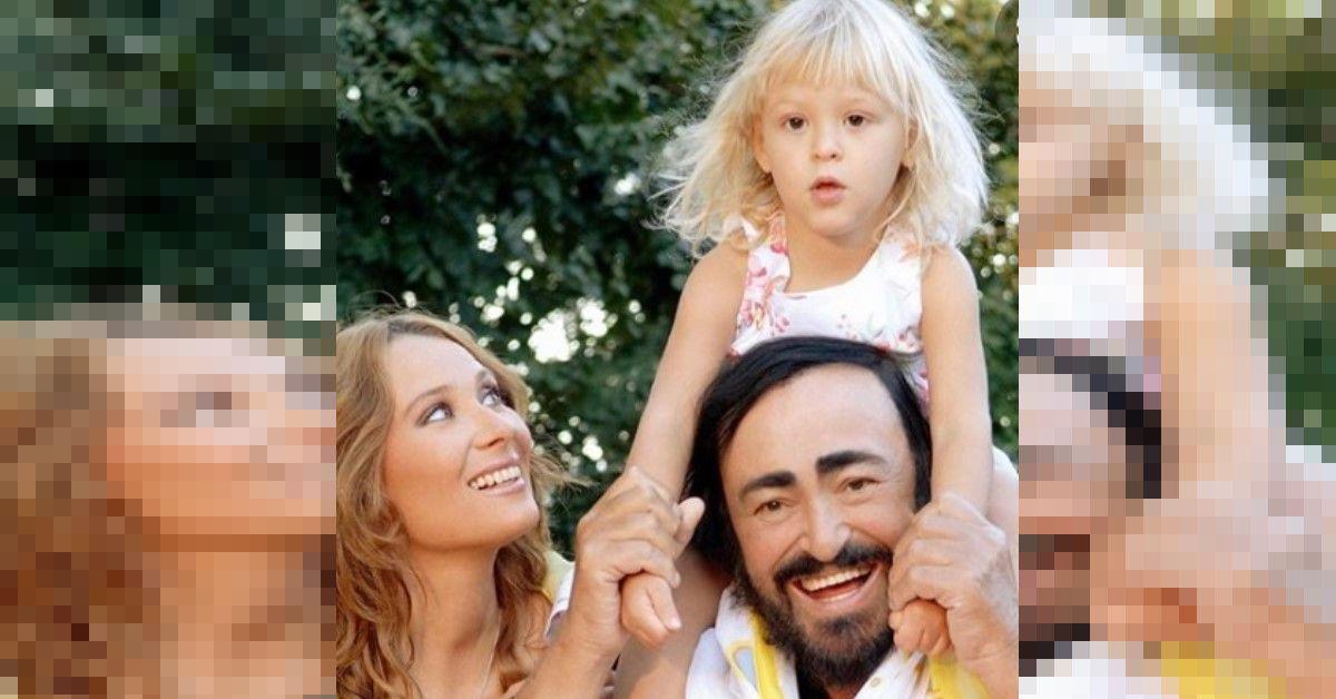 Luciano Pavarotti è venuto a mancare quando lei era ancora una bambina. Oggi Alice è cresciuta ed è profondamente legata alla mamma.