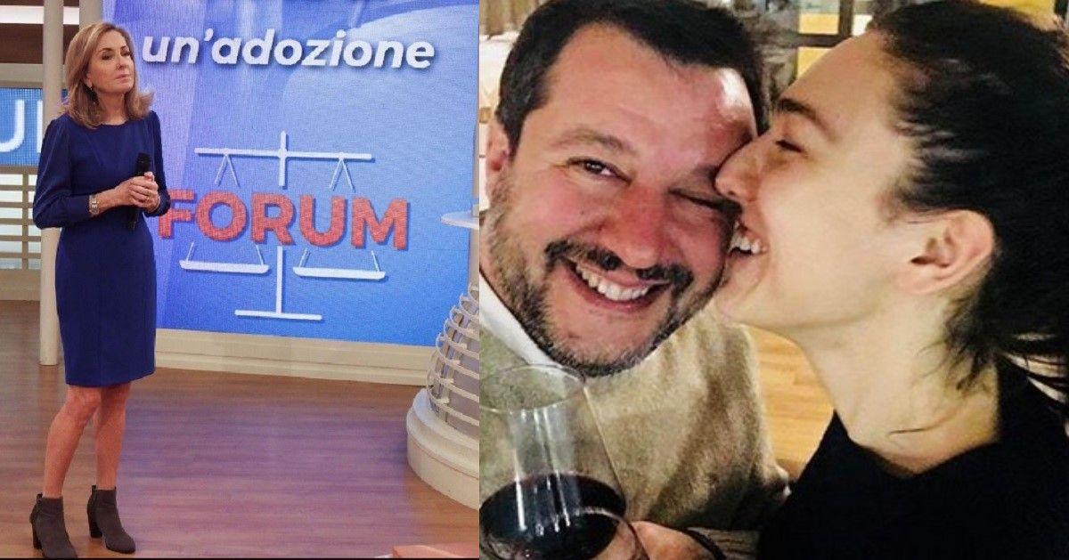 La fidanzata di Salvini, Francesca Verdini reclutata a Forum. Ecco di cosa si occuperà nello storico tribunale televisivo.