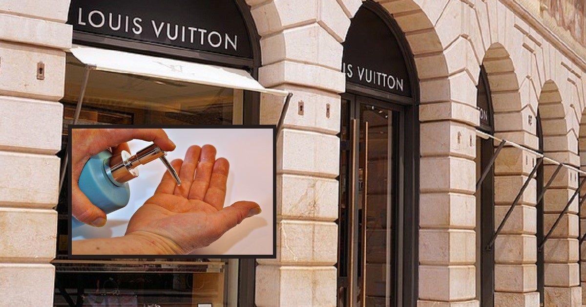 La scelta di Louis Vuitton: produrrà gel igienizzante invece di profumo e lo distribuirà gratuitamente