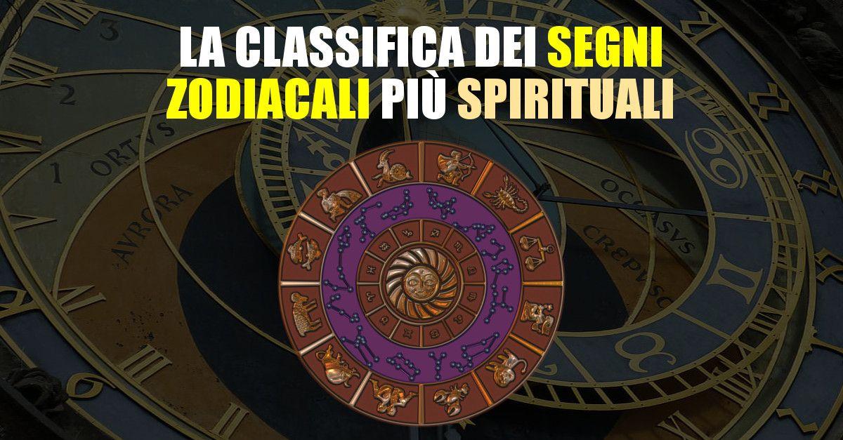 La classifica dei segni zodiacali più spirituali