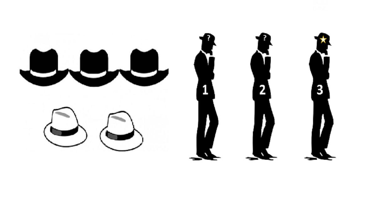 L'enigma dei cappelli: riesci a risolvere questo indovinello?