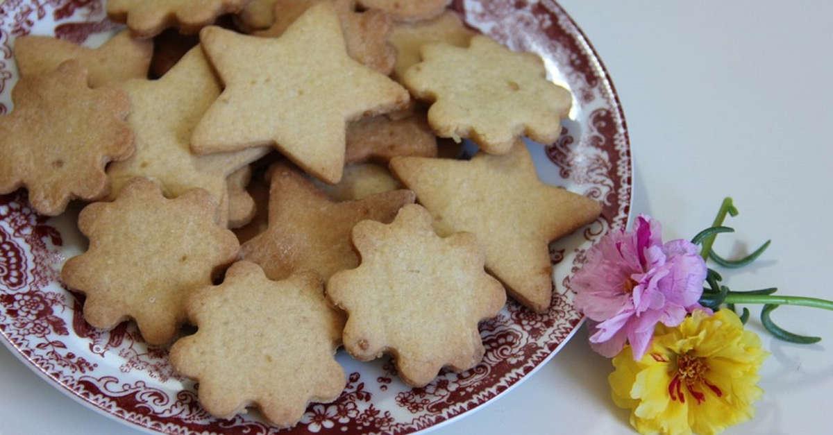 Come fare biscotti al burro facili e veloci