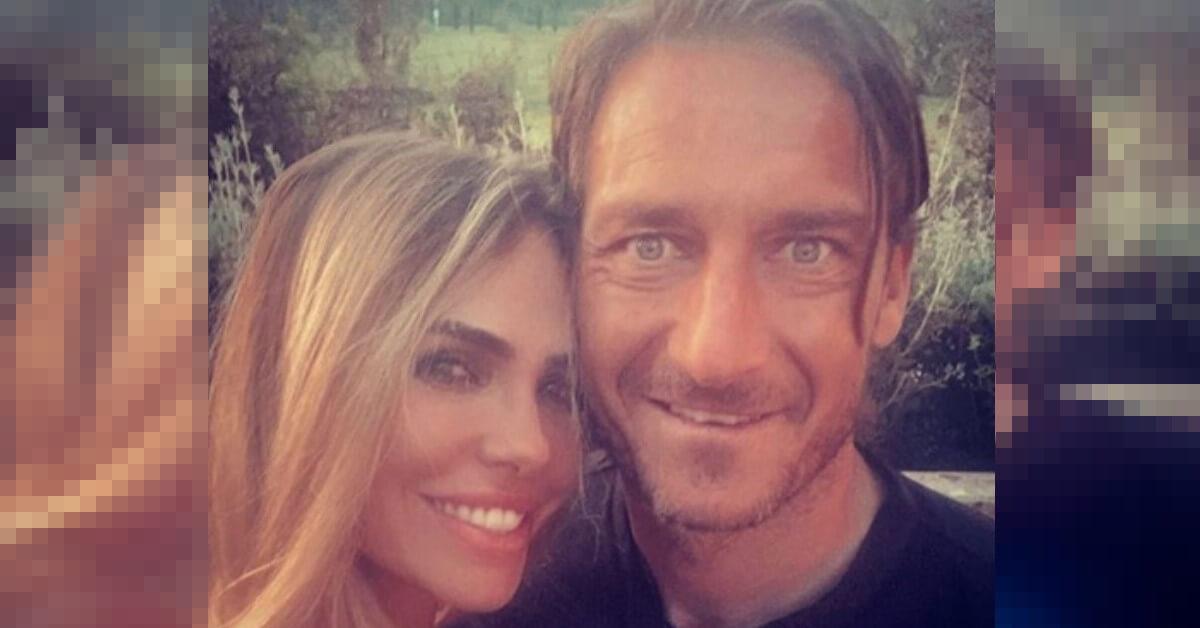 """Gli auguri speciali di Totti alla moglie Ilary Blasi. Ecco la dedica di """"er pupone"""""""
