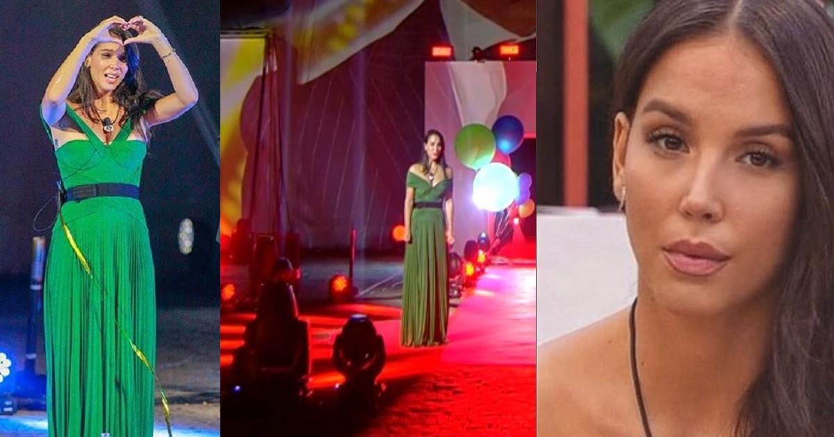 Occhi puntati sul vestito verde della finale del Gf Vip di Paola Di Benedetto. Ecco cosa c'è da sapere sul suo outfit, ecco quanto costa