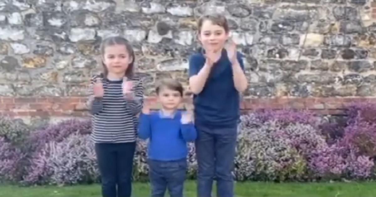 Coronavirus: i principini George, Charlotte e Louis e il gesto che ha commosso tutti. Il Video