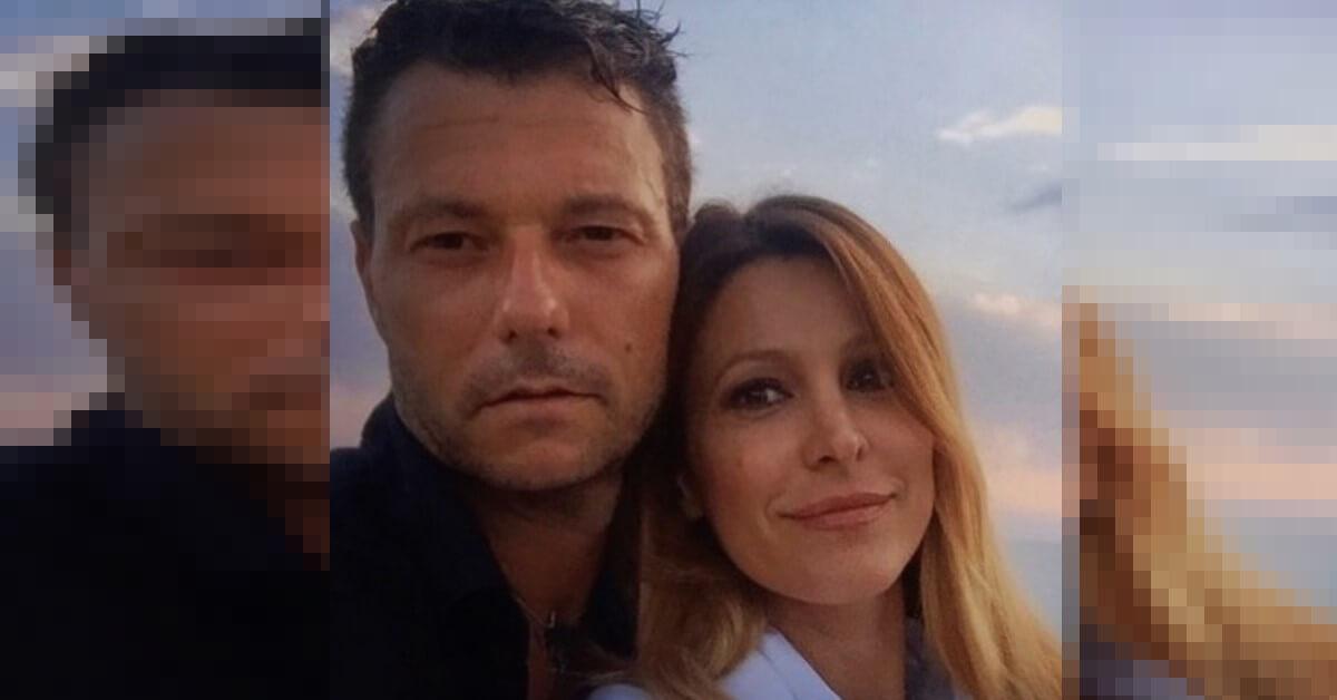 """Il marito di Adriana Volpe posta un messaggio su Instagram """"è il primo compleanno senza di te"""" Le parole toccanti di Roberto Parli."""