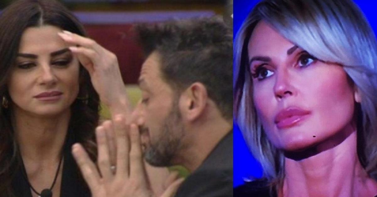 Nathaly Caldonazzo si esprime sulla fine della storia tra Pago e Serena e fa una battuta ironica.