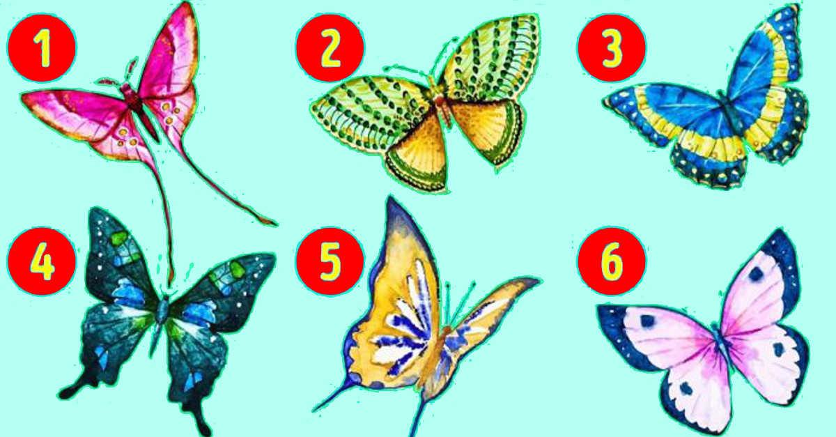 Scegli una farfalla e scopri il lato segreto della tua ...
