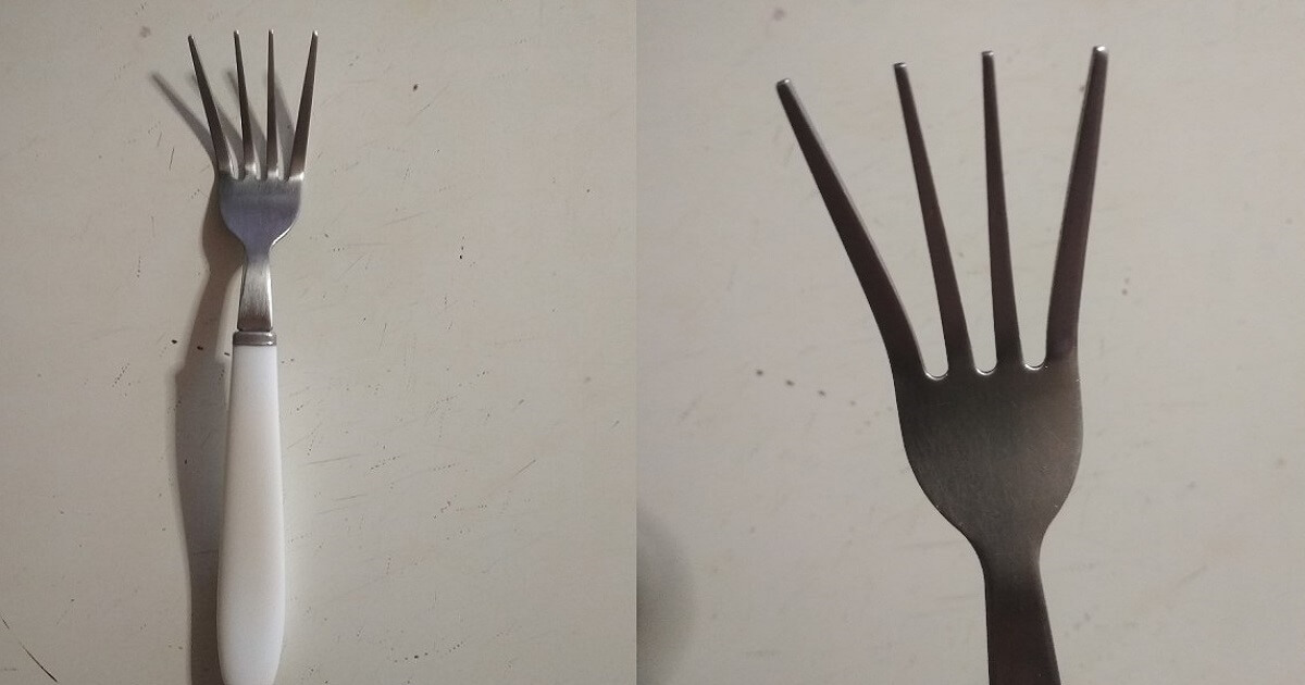 Sapete perchè i nostri nonni allargavano i denti della forchetta? Ecco la spiegazione.