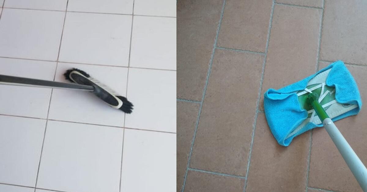 Come pulire a fondo il pavimento del balcone o del terrazzo con metodi naturali.