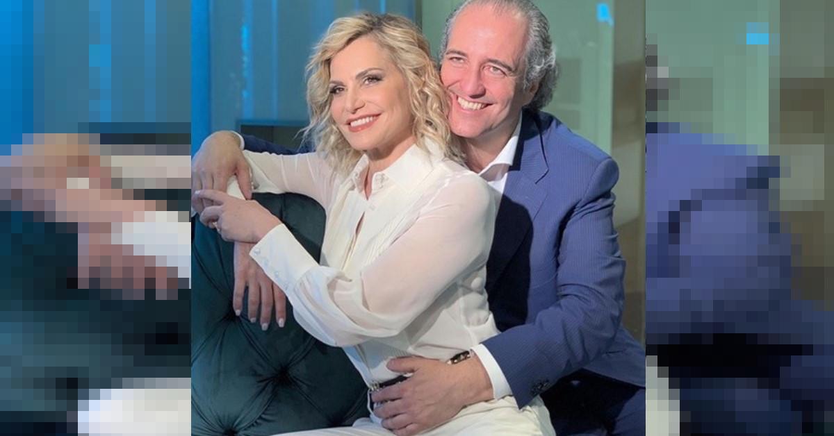 Simona Ventura nuovo programma in tv e questa volta insieme al compagno  Giovanni Terzi