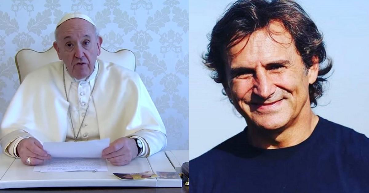 """Papa Francesco scrive una lettera a Alex Zanardi e il figlio Niccolò pubblica un nuovo post sui social """"Dai papà"""""""