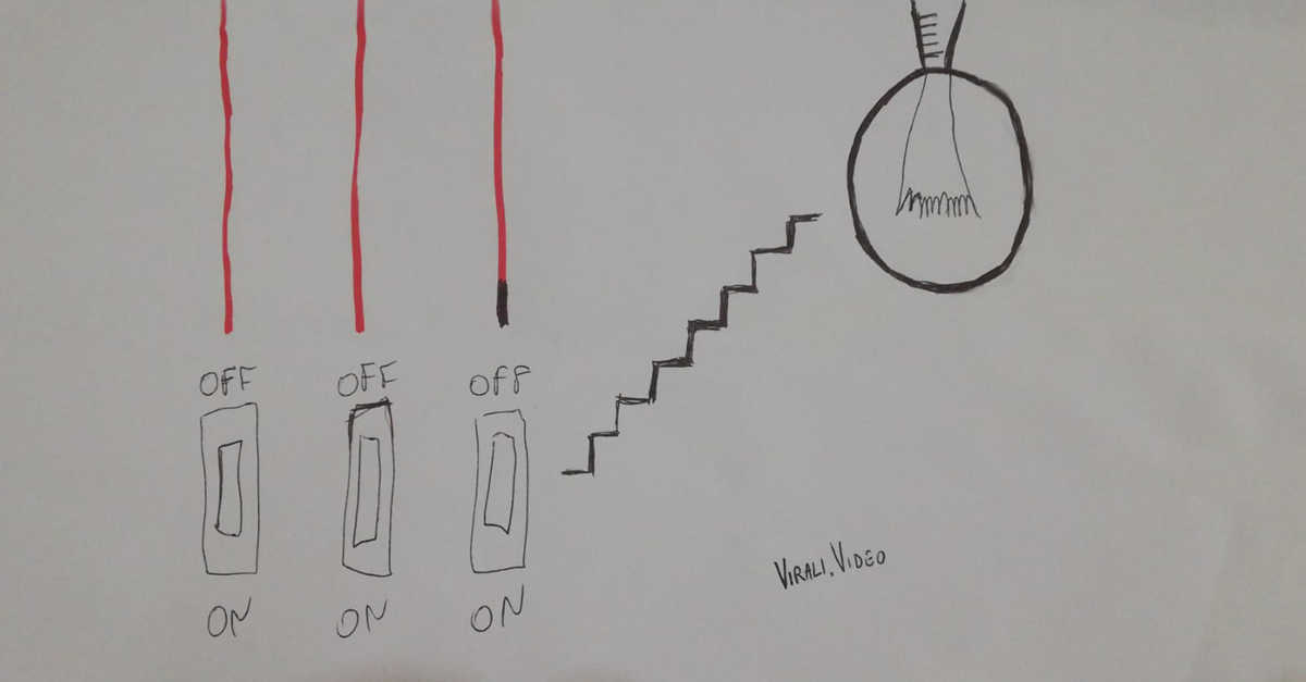 Sei in grado di risolvere il quiz dei tre interruttori e una lampadina? Provaci!