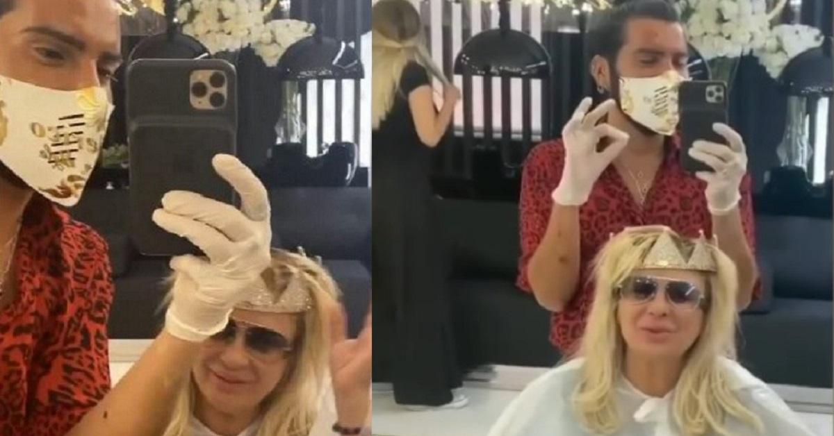 Federico Fashion Style incorona Tina Cipollari per un trattamento, ma poi le dice qualcosa che la fa infuriare. La reazione di Tina