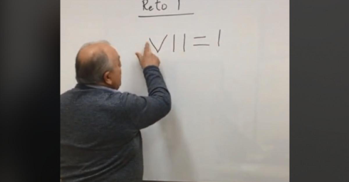 Spostando una sola linea raggiunge l'uguaglianza… il problema di matematica che spiazza gli utenti di TikTok