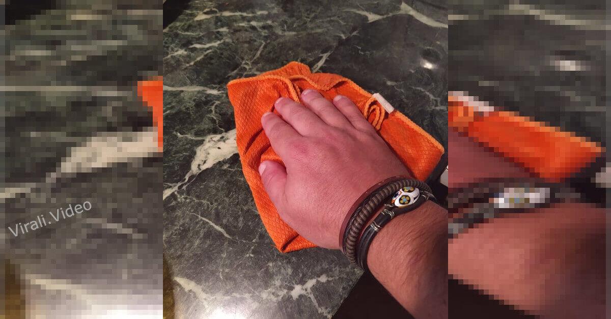 Come eliminare  le macchie dalle superfici in marmo