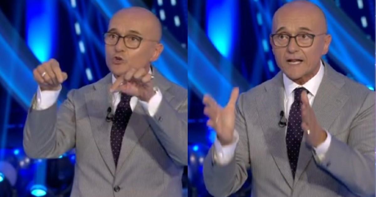 """Sfuriata in diretta al Grande Fratello Vip 5, Signorini è sbottato contro la concorrente """"Maleducata"""""""