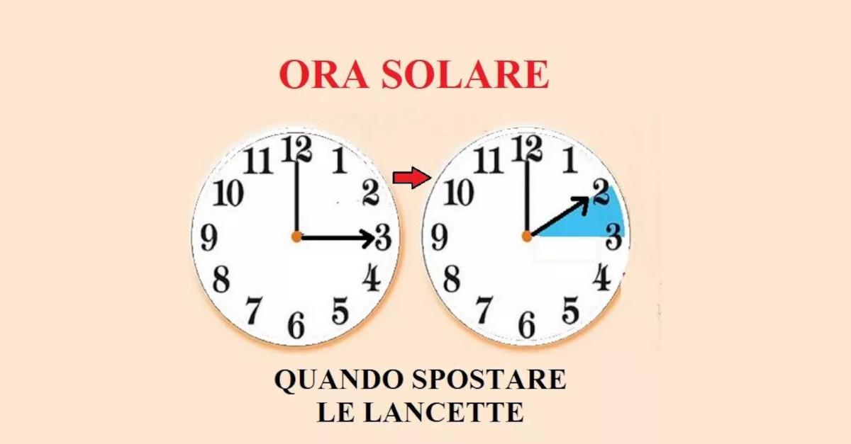 Ora solare 2020: ottobre è arrivato ed è quasi ora di cambiare le lancette dell'orologio, ecco quando spostarle.
